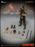 WorldBox Scorpion 1/6 Scale Mortal Kombat Figure