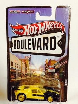 Hot Wheels Boulevard Ford GT 1/64 Scale Die-Cast
