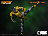 Storm Collectibles 1/12 Mortal Kombat Cyrax Scale Action Figure 7