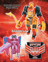 Transformers Botcon 2009 Exclusive Razorclaw & Elita One
