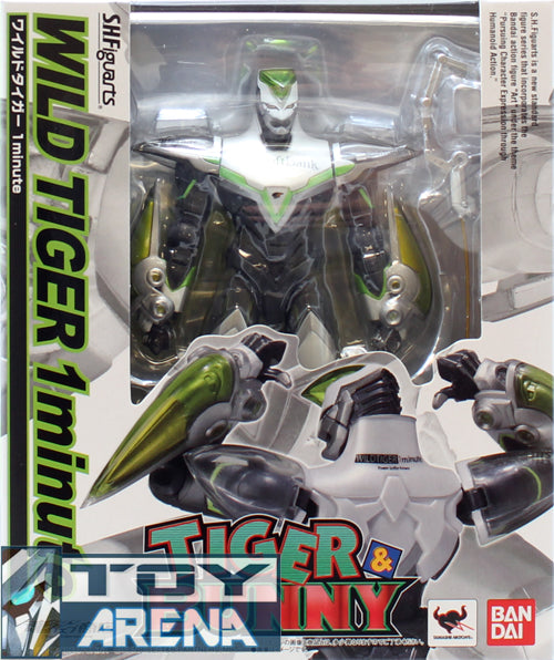 S.H. Figuarts Tiger & Bunny Wild Tiger One 1 Minute Action Figure Bandai Internet Shop Exclusive