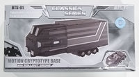 Transformers Classics BTS-01 Optimus Prime Mobile Command Base Trailer (Clear Version)