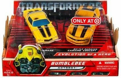 Transformers Movie Bumblebee Evolution Of A Hero 2 Pack Target Exclusive