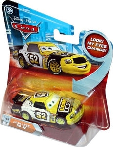 Disney / Pixar CARS Movie 1:55 Die Cast Leak Less No. 52 #49 w/ Lenticular Eyes!