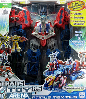 Transformers Prime RID Cyberverse Optimus Maximus Battle Station Carrier