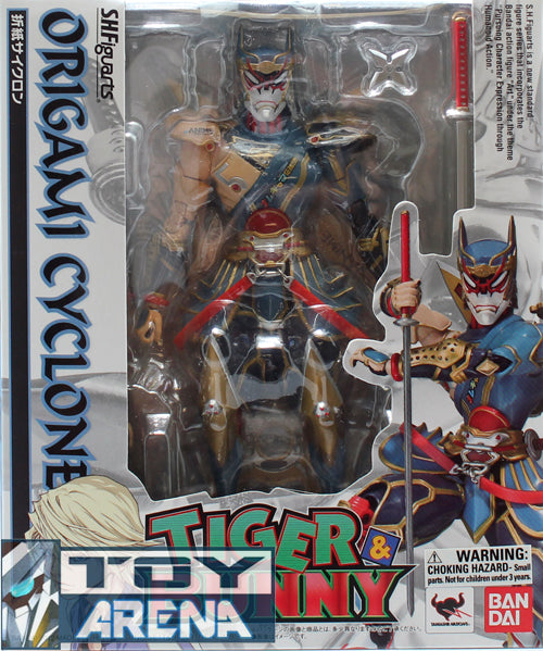 S.H. Figuarts Origami Cyclone Tiger & Bunny Action Figure