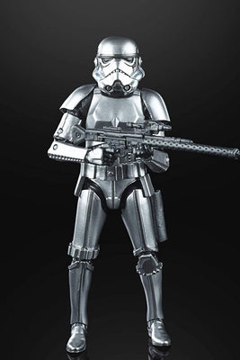 Hasbro Star Wars  The Black Series Carbonized Graphite  Stormtrooper 6 Inch Action Figure Exclusive
