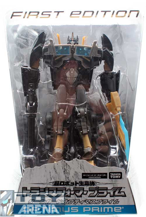 Transformers Prime Voyager Dark Guard Optimus Prime First Edition Japanese Store Exclusive Takara
