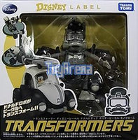 Transformers Disney Label Donald Duck Monochrome Version