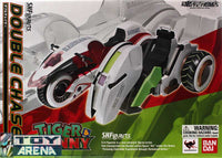 S.H. Figuarts Tiger & Bunny Double Chaser for Wild Tiger and Barnaby Brooks Jr. Vehicle Action Figure