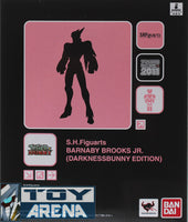 S.H. Figuarts Barnaby Brooks Jr. Darkness Edition Tiger & Bunny Tamashii Web Shop Exclusive Action Figure