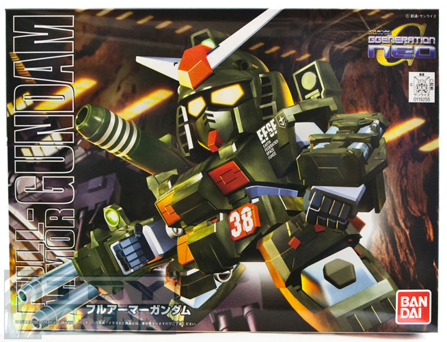 Gundam BB SD #251 FA-78-1 Full-Armor Gundam GGeneration Neo Model Kit