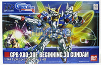 Gunpla Builders 1/144 HG #006 GPB-X80-30F Beginning 30 Gundam Model Kit