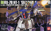Gundam 0080 1/144 HGUC #047 RX78 NT-1 Alex E.F.S.F. Mobile Suit Model Kit