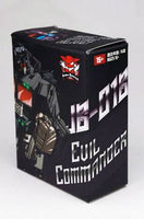 Junkion JB-01B Headmaster Evil Commander Figure