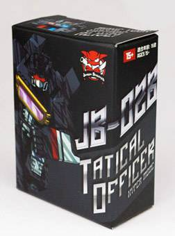 Junkion JB-02B Headmaster Tactical Officer Hyper Mode Figure