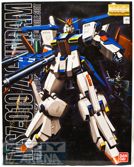 Gundam ZZ 1/100 MG MSZ-010 ZZ Gundam A.E.U.G. Model Kit