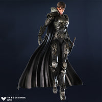 DC Universe Superman Man of Steel Faora-Ul Variant Play Arts Kai Action Figure
