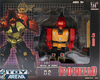 Unique Toys UT-W02 War Lord Ironhead 3 in 1 Robot Series No. 02