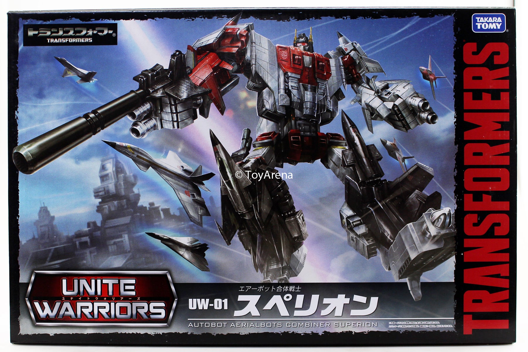Transformers Unite Warriors
