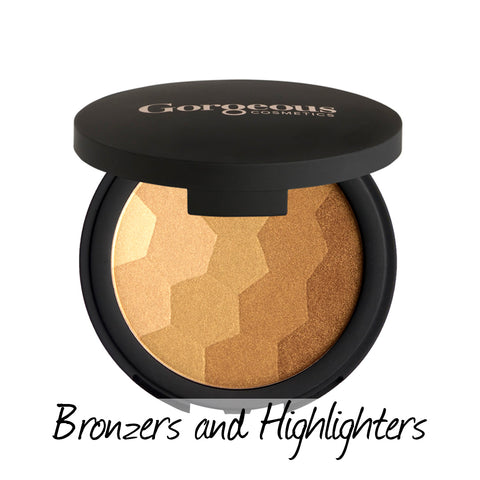 Bronzers and highlighters