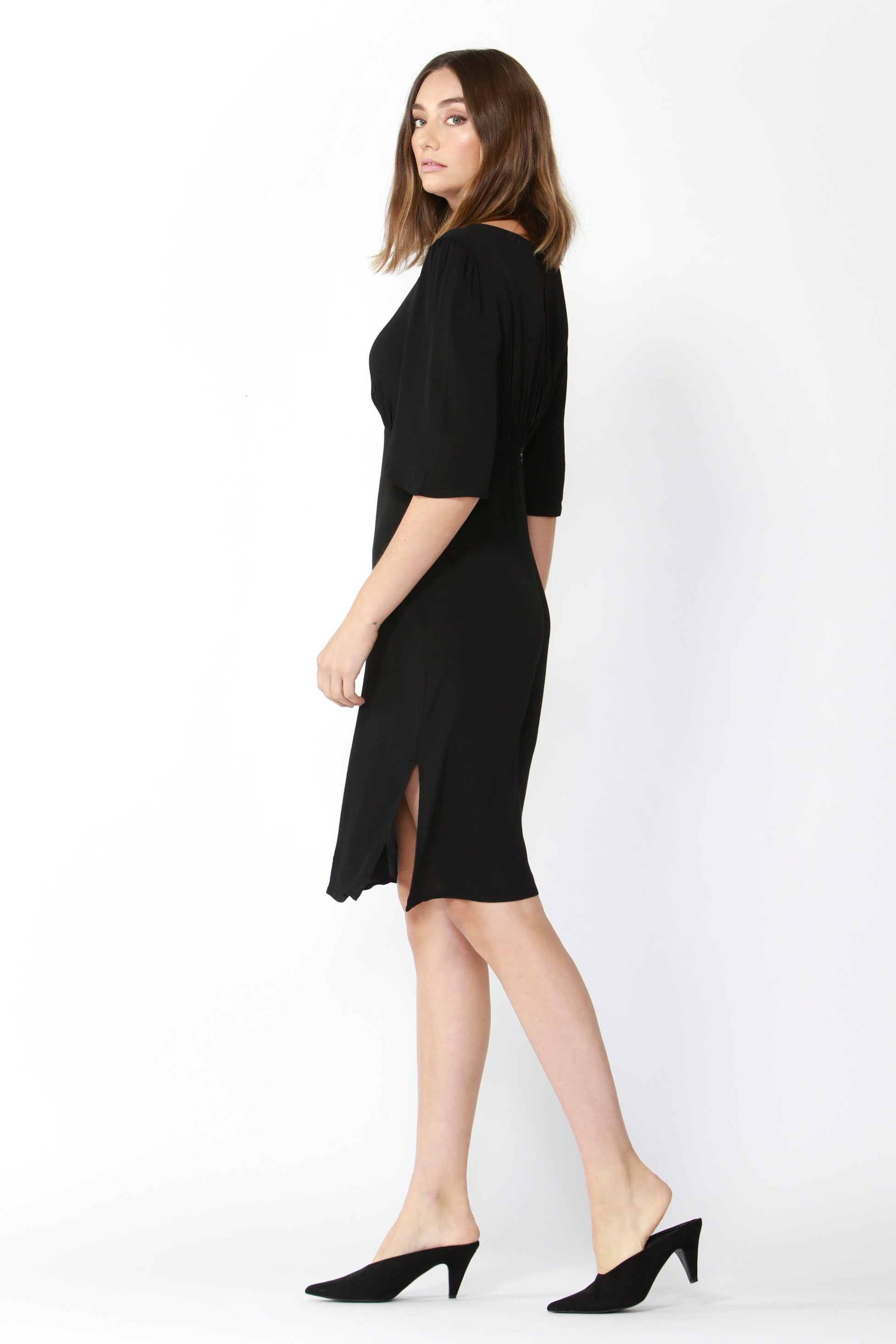 Fate + Becker Keep It Real Dress in Black