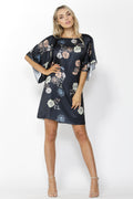 Fate + Becker Easy Distraction Dress in Aurora Print Size 12 ONLY