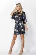 Fate + Becker Easy Distraction Dress in Aurora Print