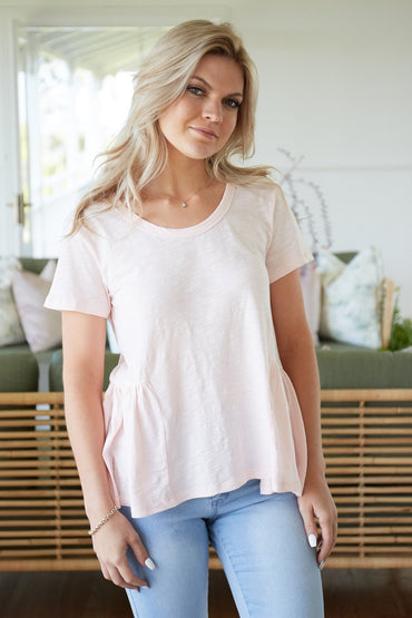 3rd Story Seaford Tank in Blush Pink Size L Only - Hey Sara