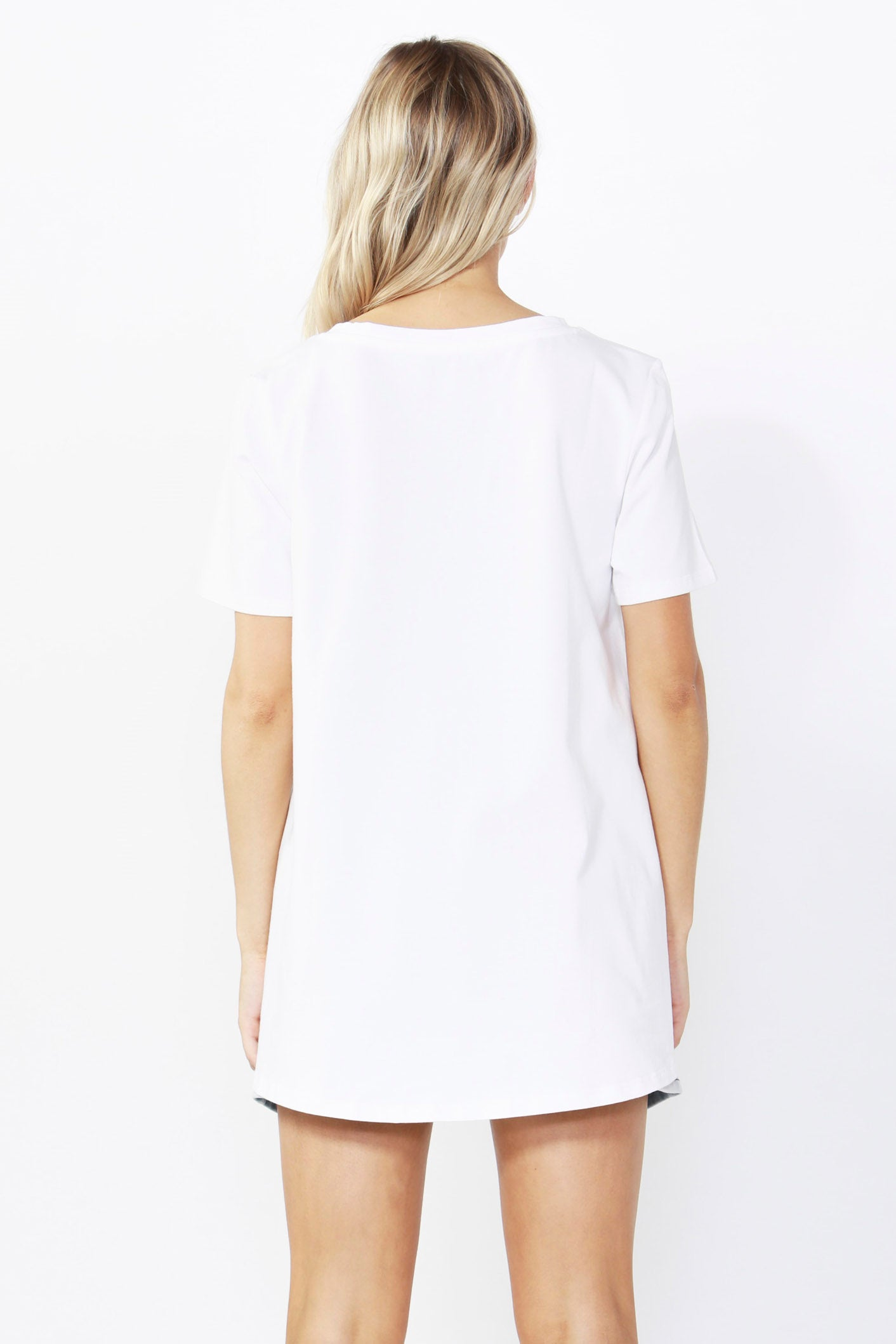 Betty Basics Hannah Tee in White