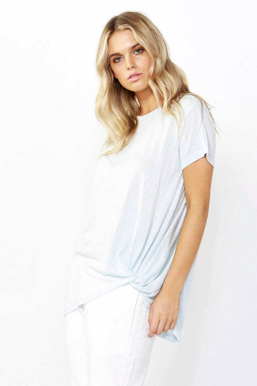 Betty Basics Phoenix Tee in Ice Blue Size 8 or 14 ONLY