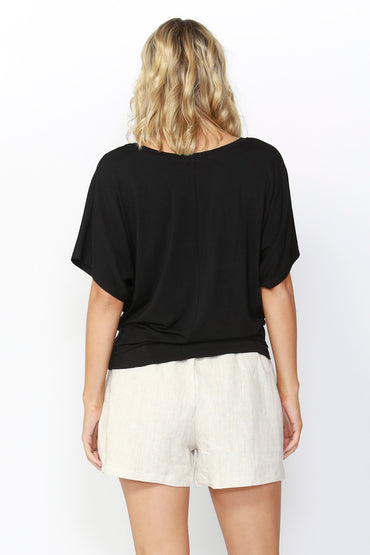 Betty Basics Maui Tee Update in Black