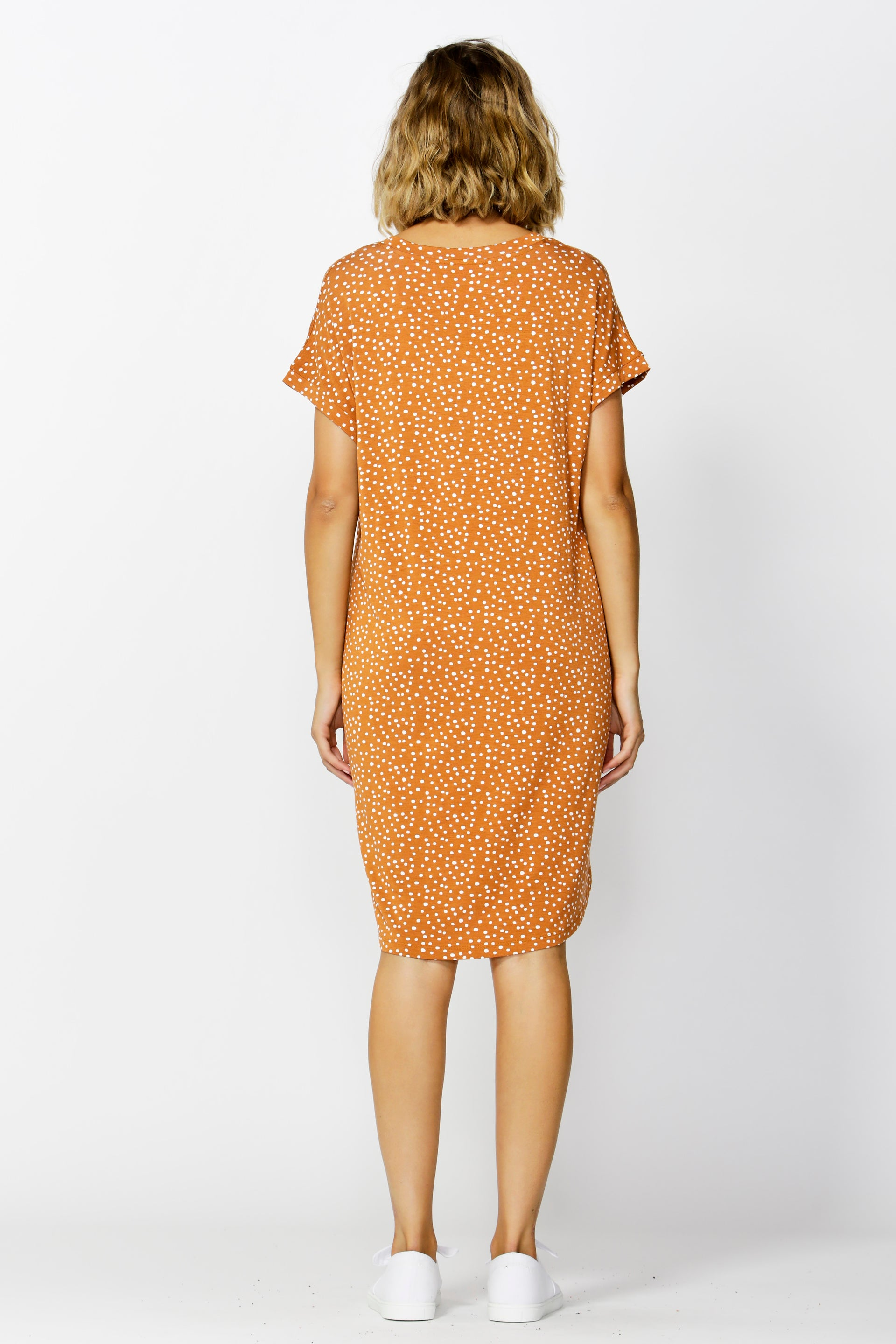 Betty Basics Arizona Dress in Clay Spot Size 8 or 10 ONLY