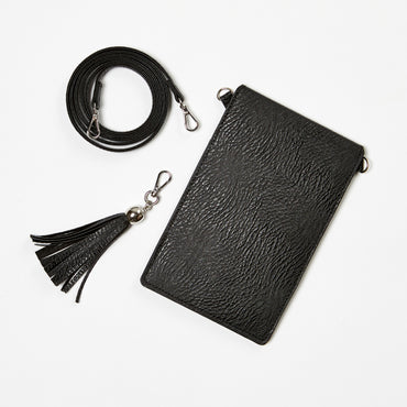 Betty Basics Go Crossbody Flip Open Case in Black