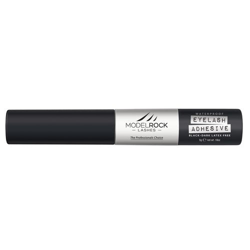 MODELROCK Lash Adhesive 5gm Waterproof BLACK/DARK with applicator