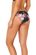 Baku Vanuatu Regular Bikini Swim Pants in Midnight Print