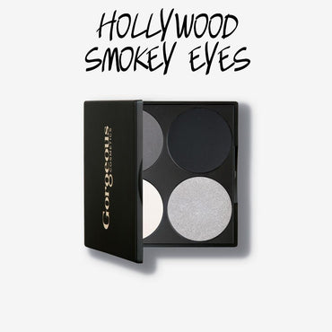 Gorgeous 4 Pan Eyeshadow Palette - Hollywood Smokey Eyes