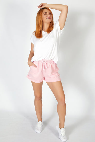Betty Basics Byron Shorts in Ballet Pink - Hey Sara