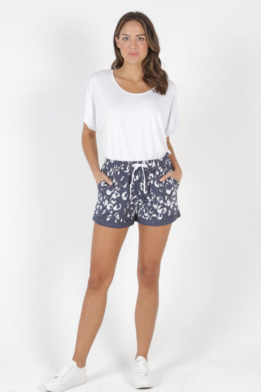 Betty Basics Byron Shorts in Bengal Print Size 6 ONLY - Hey Sara