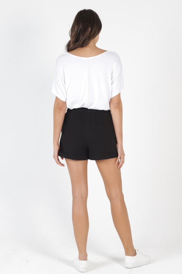 Betty Basics Byron Shorts in Black - Hey Sara