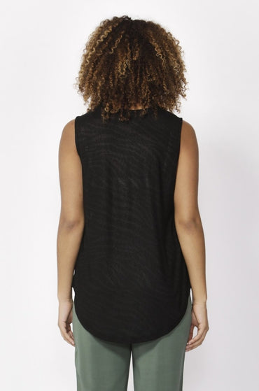 Betty Basics Capri Tank in Black Summer Edition - Hey Sara