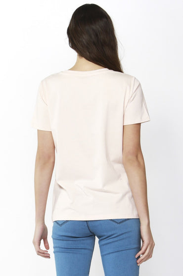 Betty Basics Cara Tee in Blush Sequin Sizes 10 or 14 - Hey Sara