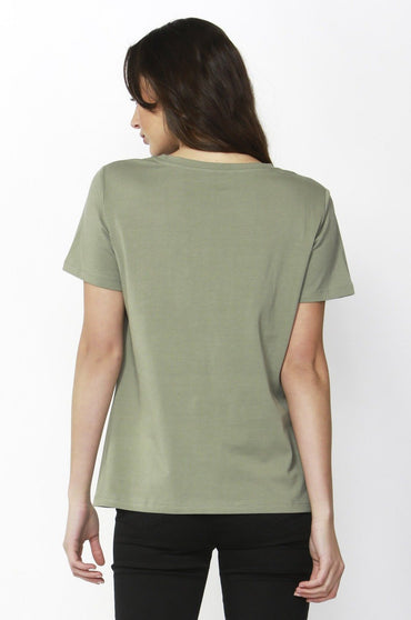 Betty Basics Cara Tee in Moss Sequin Sizes 8 10 or 12 - Hey Sara