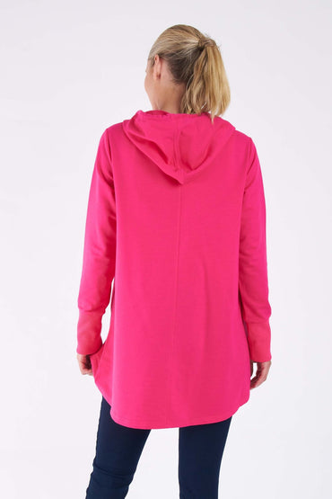 Betty Basics Colbie Hoodie in Magenta - Hey Sara