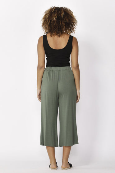Betty Basics Dublin Cropped Pants in Olive Size 8 ONLY - Hey Sara