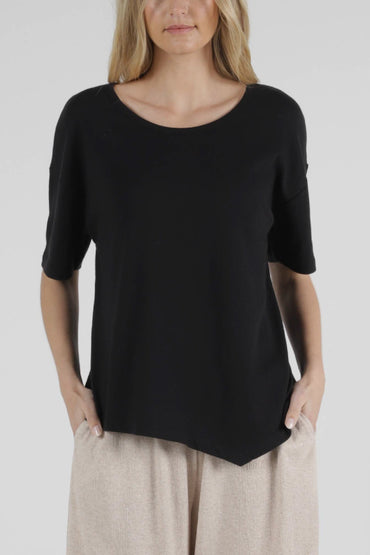 Betty Basics Florence Top in Black - Hey Sara