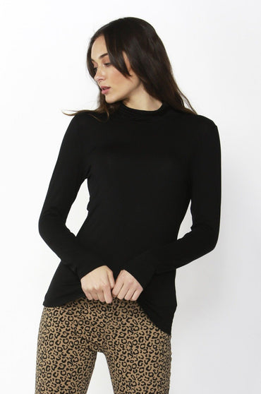 Betty Basics Glasgow Top in Black - Hey Sara