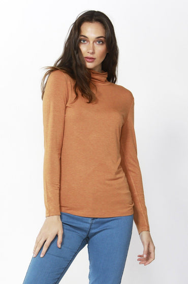 Betty Basics Glasgow Top in Spice Marle - Hey Sara