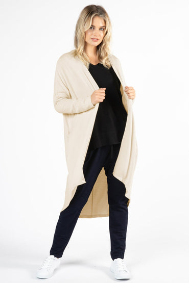Betty Basics Harlow Cardigan in Oatmeal - Hey Sara