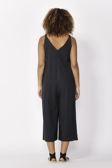 Betty Basics Hendrick Jumpsuit in Indi Grey - Hey Sara